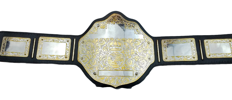 Ares Dual Tone Championship Belt