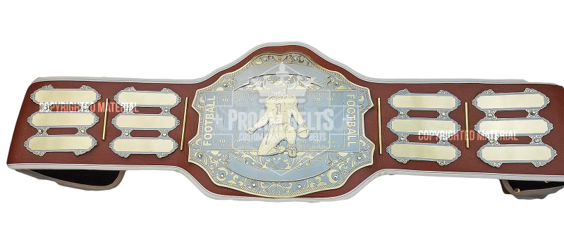 MVP Custom Fantasy Football Championship Brown Belt