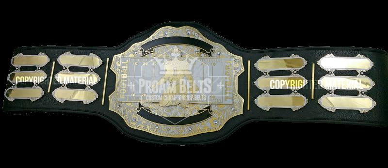MVP Custom Fantasy Football Championship Belt
