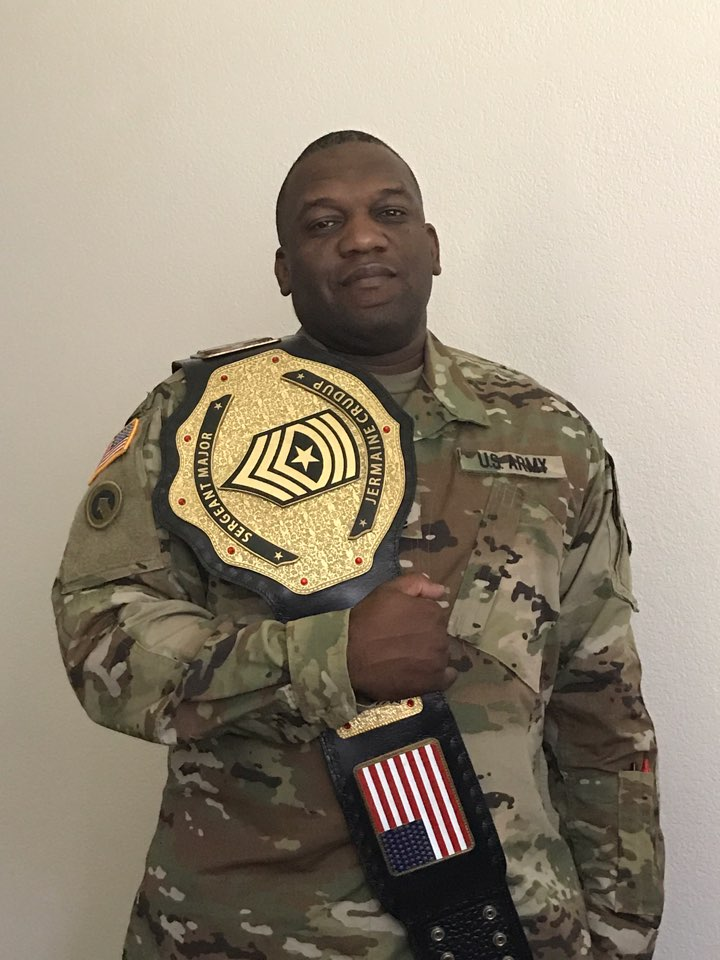 Armed forces championship belt awards and gifts | ProAmBelts