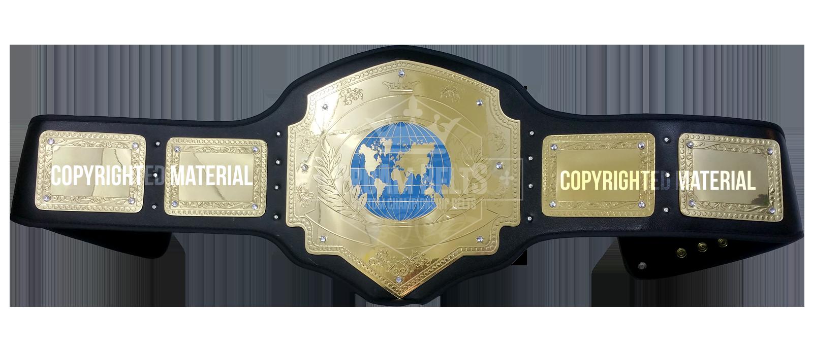 Belt of the Month: Global Domination Championship Belt