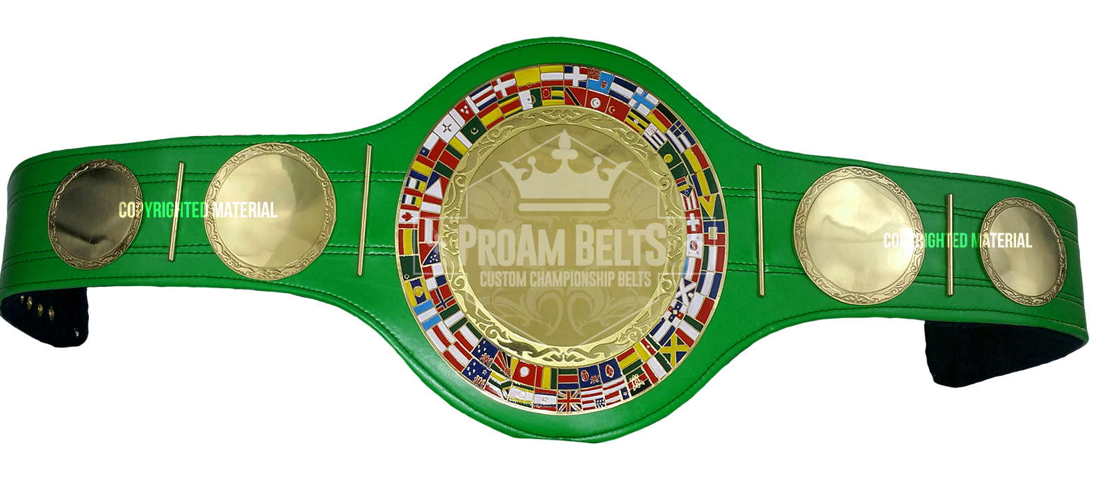 Belt of the Month: Hermes Green Strap DC Championship Belt