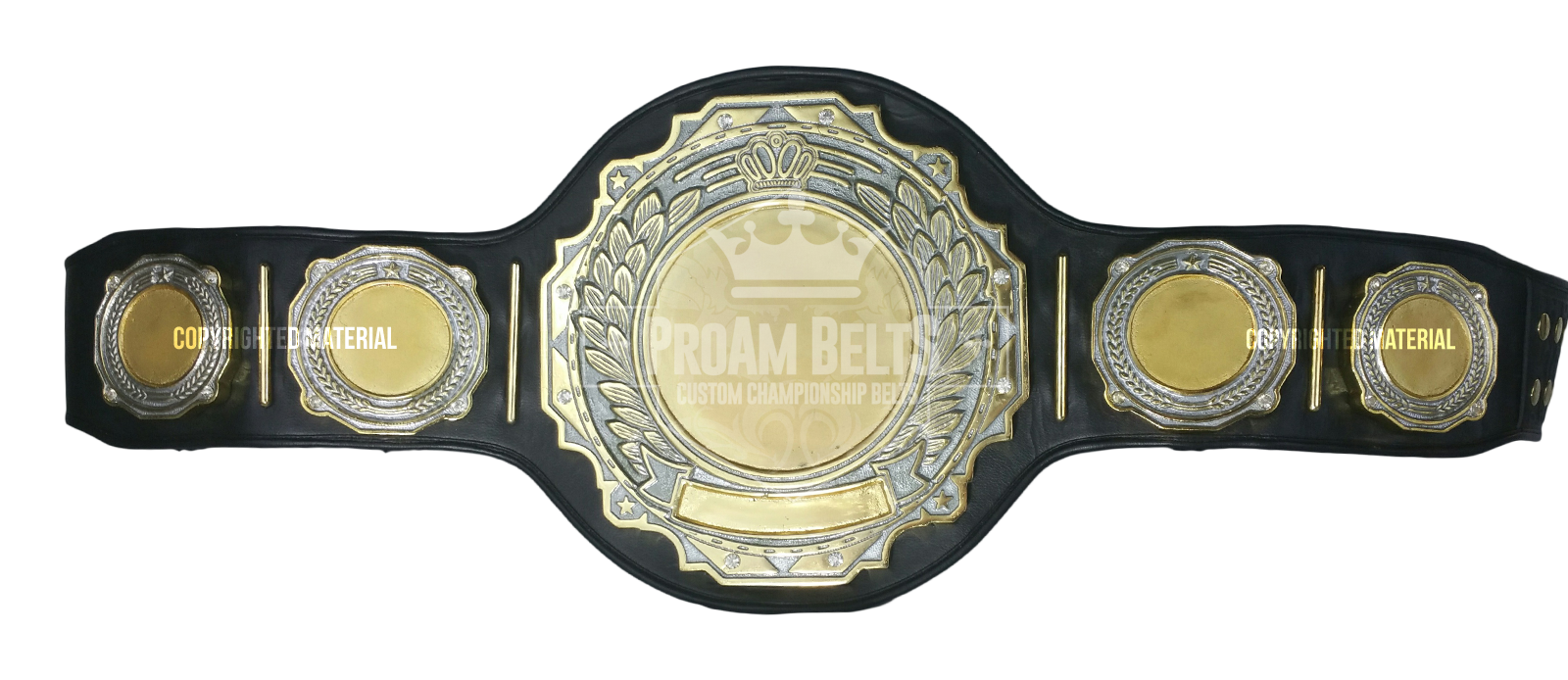 Belt of the Month: Poseidon DC Heavy Championship Belt