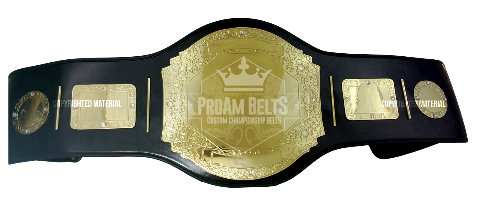 Belt of the Month: Prophet Standard Gold Championship Belt
