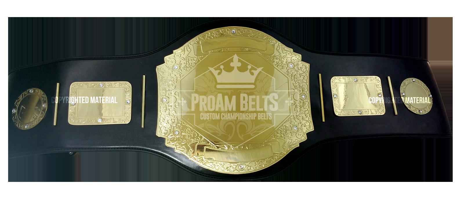 Belt of the Month: Prophet Standard Gold Championship Belt