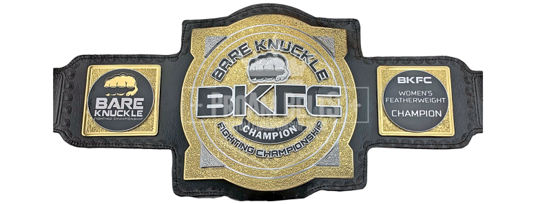 Bare Knuckle Fighting Championships Women's Featherweight Title Belt