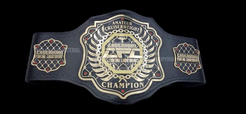 Cagebound Fighting Championship CFC Amateur Cruiserweight Champion