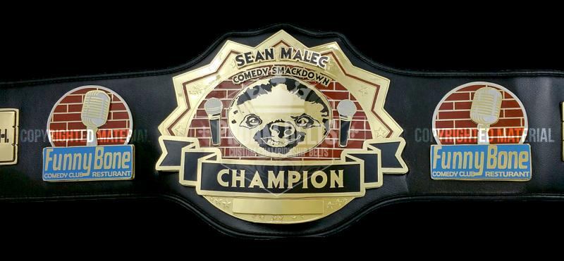 Sean Malec Comedy Smackdown Champion
