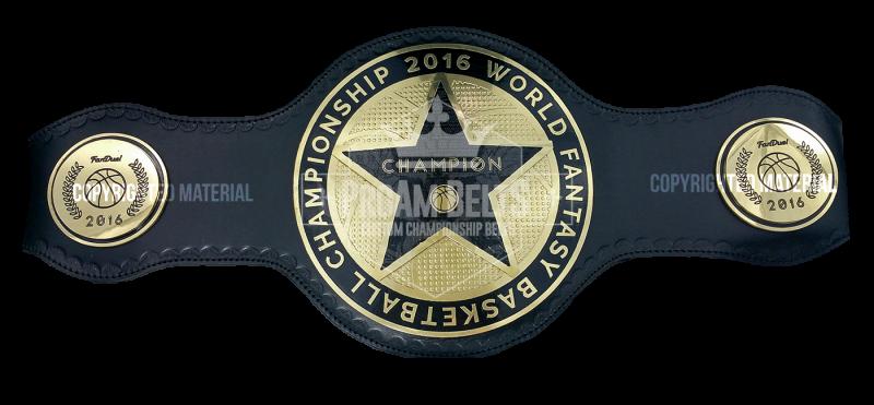 FanDuel 2016 World Fantasy Basketball Championship Belt