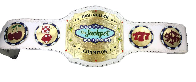 Poker Tournament Custom Championship Belt