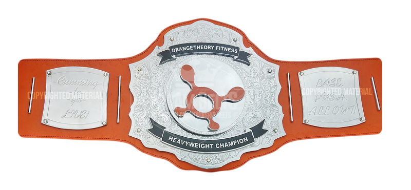 Orange Theory Fitness Heavyweight Championship