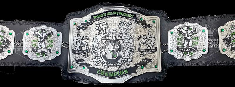 PAW World Heavyweight Champion Title Belt