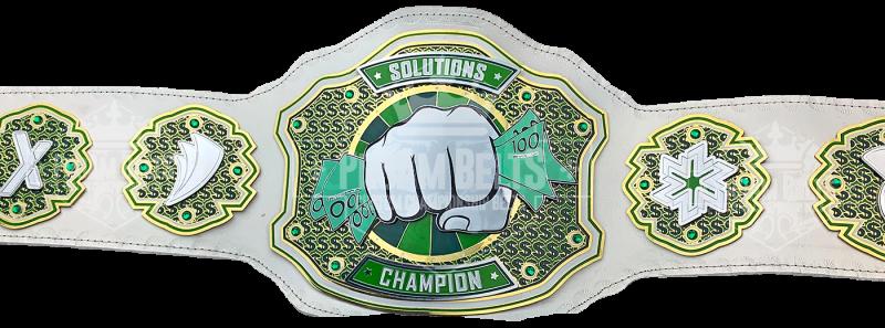 Solutions Champion Bling Money Award