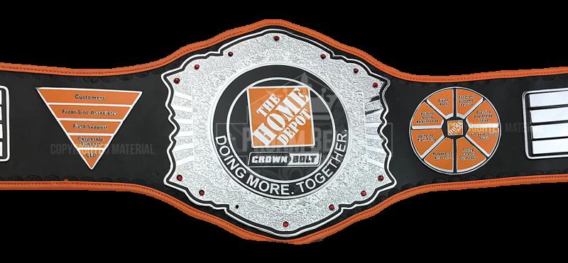 The Home Depot Custom Morale Boosting Award