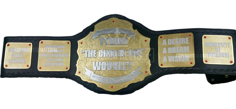 Tyron Woodley Custom Belt