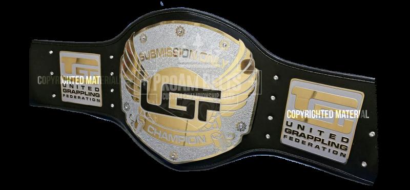 UGF Custom Championship Belt