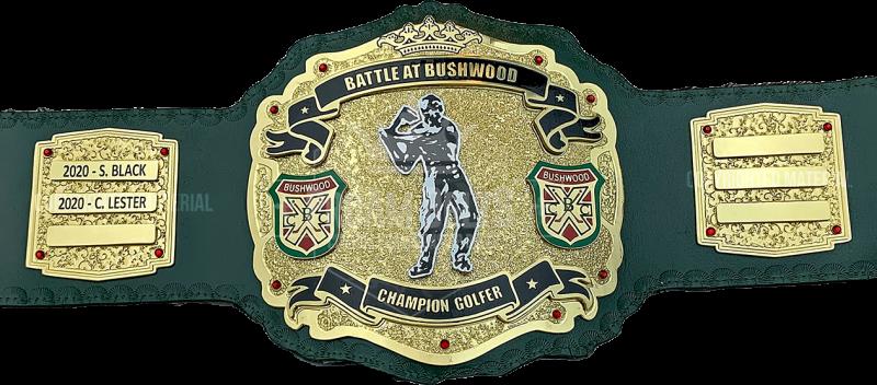 Battle at Bushwood Golf Championship Belt