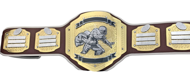 Blitz Football Strap Championship Belt