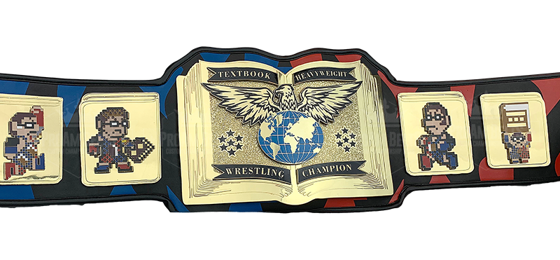Custom Video Game Esports Wrestling Championship Title