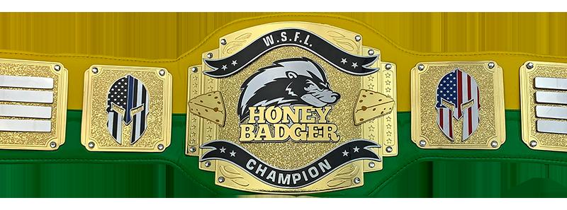 WSFL Honey Badger Champion