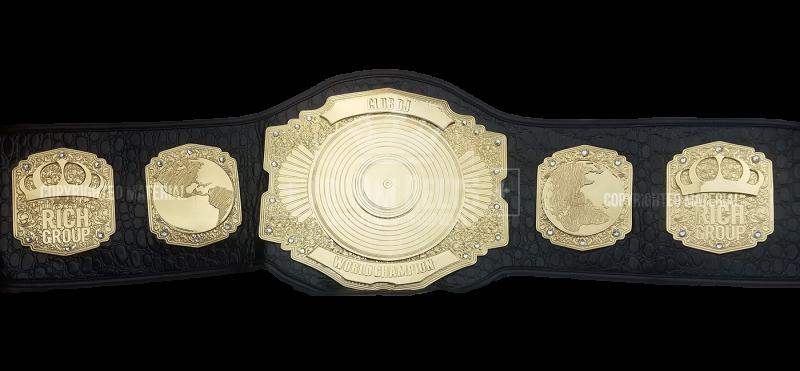 DJ Stack Custom Spin Championship Title Belt