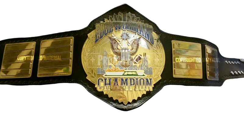 Edgewoodians Custom Championship Belt