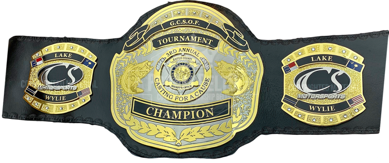 Gaston County Sheriffs Office 3rd Casting For A Cause Championship Belt