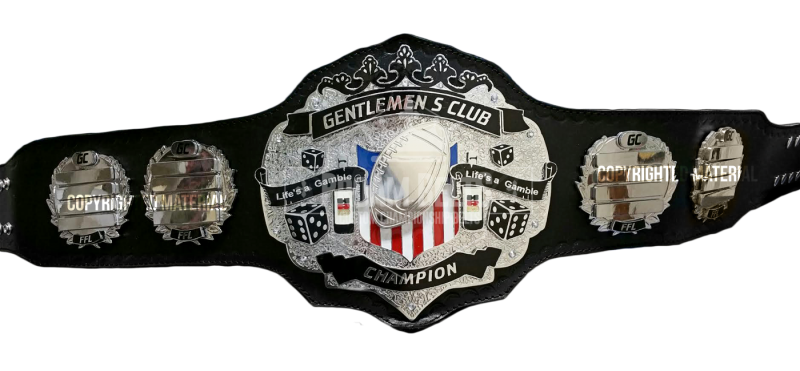 Gentlemens Club Championship Belt