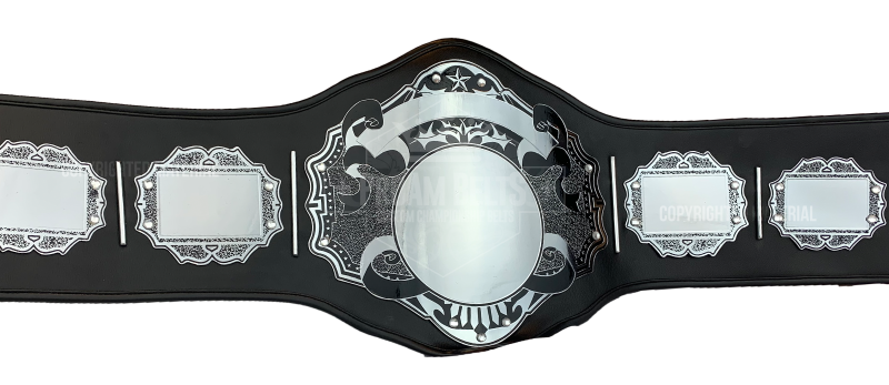 Hades Chrome Championship Belt