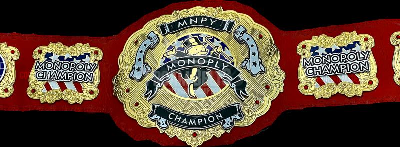 Monopoly Tournament Mnpy championship Belt
