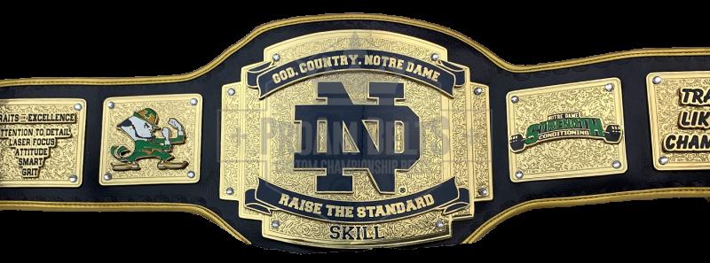 Notre Dame Raise the Standard Award