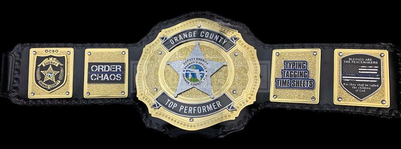 Orange County Sheriff's Office Top Performer Custom