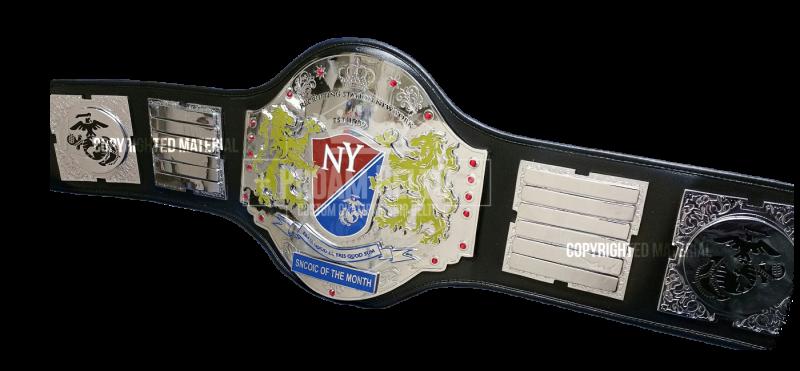 Recruiting Station New York Championship Belt