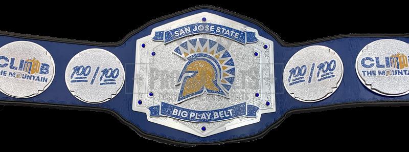 San Jose State Big Play Championship Belt