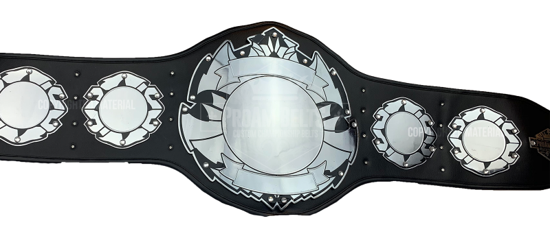 Zeus Chrome Championship Belt
