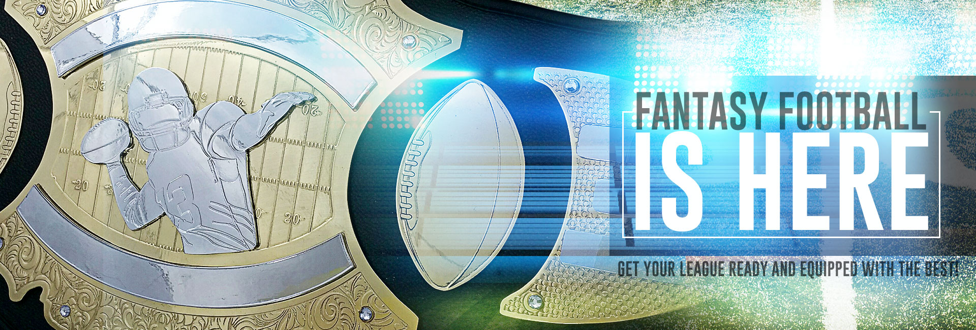 Football season is right around the corner and ProAmBelts is changing the game! Stock your 2017 champion with only the best Fantasy Football Belts