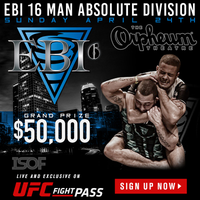 Eddie Bravo Invitational 6 Winners To Don ProAmBelts Gold