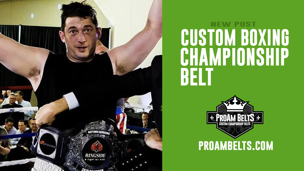 Custom Boxing Championship Belts Available Now