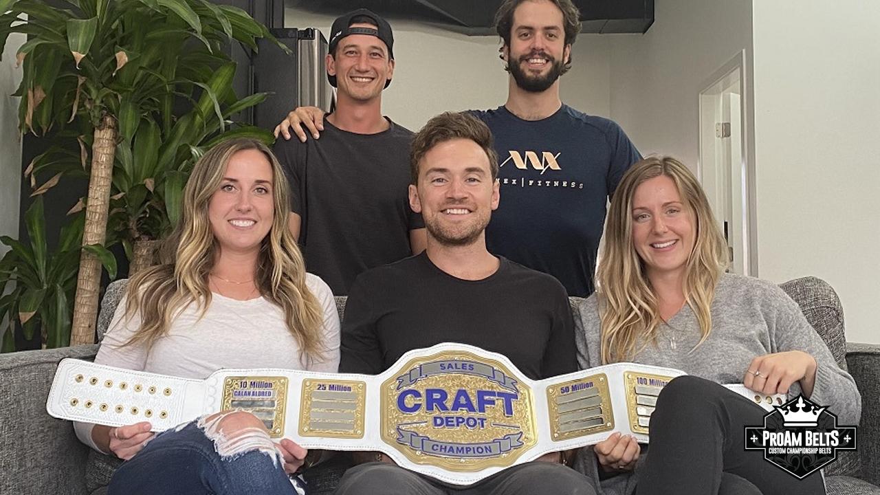 Craft Depot Wanted A Huge Championship Title Belt Award