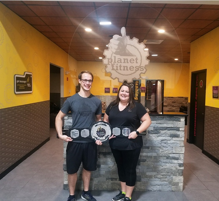 Planet Fitness Champion Award Belt