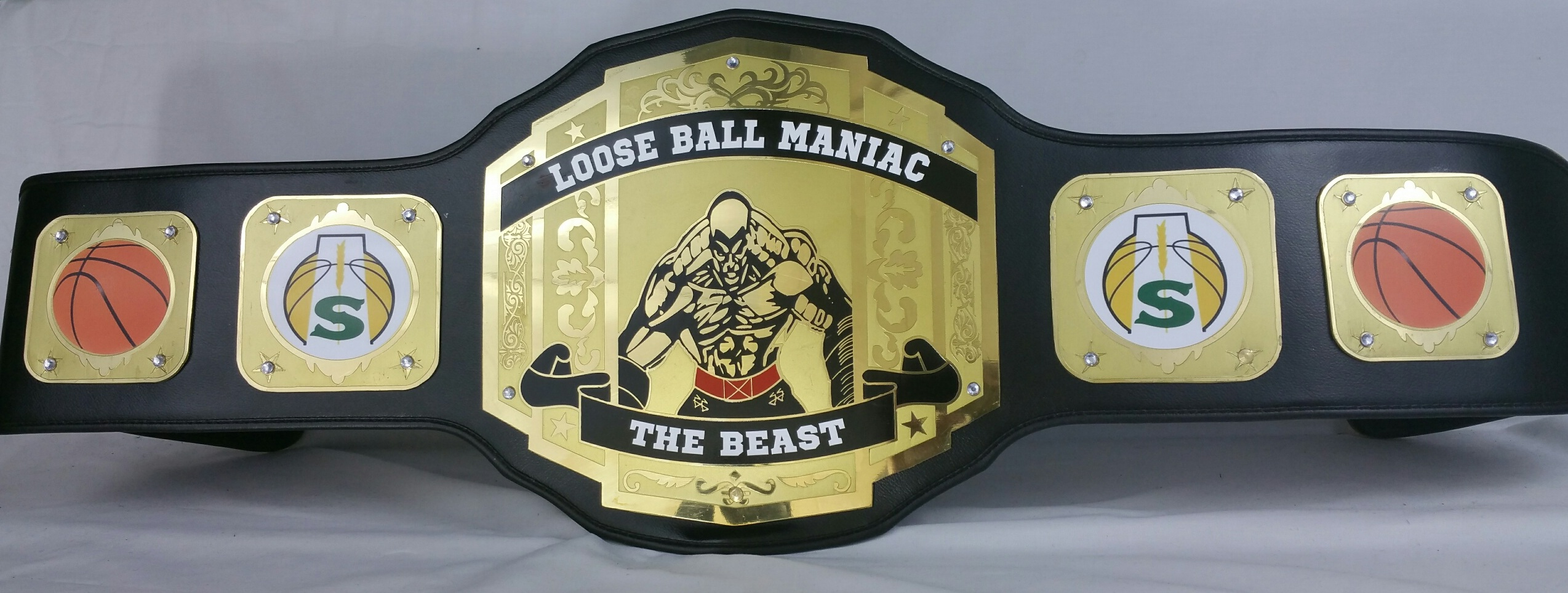 Basketball Custom Championship Belts Available Now